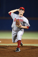 March 9, 2010:  Pitcher Cam Verbeke of the Illinois State Redbirds during a game at McKethan Stadium in Gainesville, FL.  Photo By Mike Janes/Four Seam Images