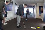 Golf Development Wales<br /> Street Golf at Cardiff City Stadium<br /> 06.04.16<br /> &copy;Steve Pope - Sportingwales