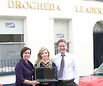 Elaine Grennan and Gordon Hatch presenting Karen Hutcheson with her prize for the Journalism Competition...Photo NEWSFILE/Jenny Matthews.(Photo credit should read Jenny Matthews/NEWSFILE)....This Picture has been sent you under the condtions enclosed by:.Newsfile Ltd..The Studio,.Millmount Abbey,.Drogheda,.Co Meath..Ireland..Tel: +353(0)41-9871240.Fax: +353(0)41-9871260.GSM: +353(0)86-2500958.email: pictures@newsfile.ie.www.newsfile.ie.FTP: 193.120.102.198.