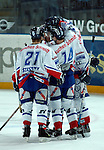 Eishockey, DEL, Deutsche Eishockey Liga 2003/2004 , 1.Bundesliga Arena Nuernberg (Germany) Nuernberg Ice Tigers - Iserlohn Roosters (7:2) Jubel IceTigers
