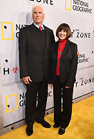 "BEVERLY HILLS - MAY 9: Lt. Col. Jerry Jaax and Lt. Col. Nancy Jaax attends the L.A. premiere of National Geographic's 3-Night Limited Series ""The Hot Zone"" at the Samuel Goldwyn Theater on May 9, 2019 in Beverly Hills, California. The Hot Zone premieres Monday, May 27, 9/8c. (Photo by Frank Micelotta/National Geographic/PictureGroup)"