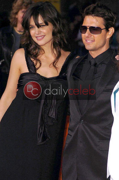 """Katie Holmes and Tom Cruise<br />at the screening of """"Mission: Impossible III"""". Grauman's Chinese Theatre, Hollywood, CA. 05-04-06<br />Scott Kirkland/DailyCeleb.com 818-249-4998"""