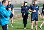 St Johnstone Training….Drey Wright pictured during training at McDiarmid Park ahead of Sundays game against Celtic.<br />