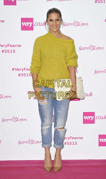 LONDON, ENGLAND - SEPTEMBER 11: Amanda Byram attends the Fearne Cotton for very.co.uk SS15 catwalk show, One Marylebone, Marylebone Rd., on Thursday September 11, 2014 in London, England, UK. <br /> CAP/CAN<br /> &copy;Can Nguyen/Capital Pictures