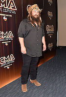 10 June 2016 - Nashville, Tennessee - Chris Stapleton. 2016 CMA Music Festival Nightly Press Conference held at Nissan Stadium. Photo Credit: AdMedia