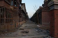 Daytime landscape view of Residential Low Density Housing in Songjiang, China.  © LAN