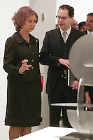 Spain's queen Sofia opens a new exposition at Reina Sofia Museum. January 22, 2013. (ALTERPHOTOS/Alvaro Hernandez) /NortePhoto