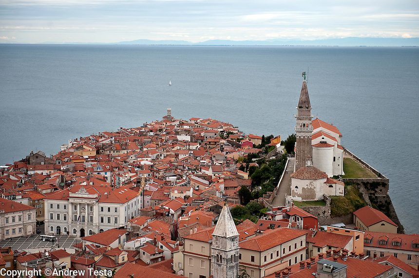 SLOVENIA. Piran . 25th July 2011.<br /> <br /> &copy;Andrew Testa for the New York Times
