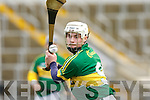 Darragh O'Connell Kerry in the Waterford Crystal Hurling cup in Fitzgerald Stadium on Sunday
