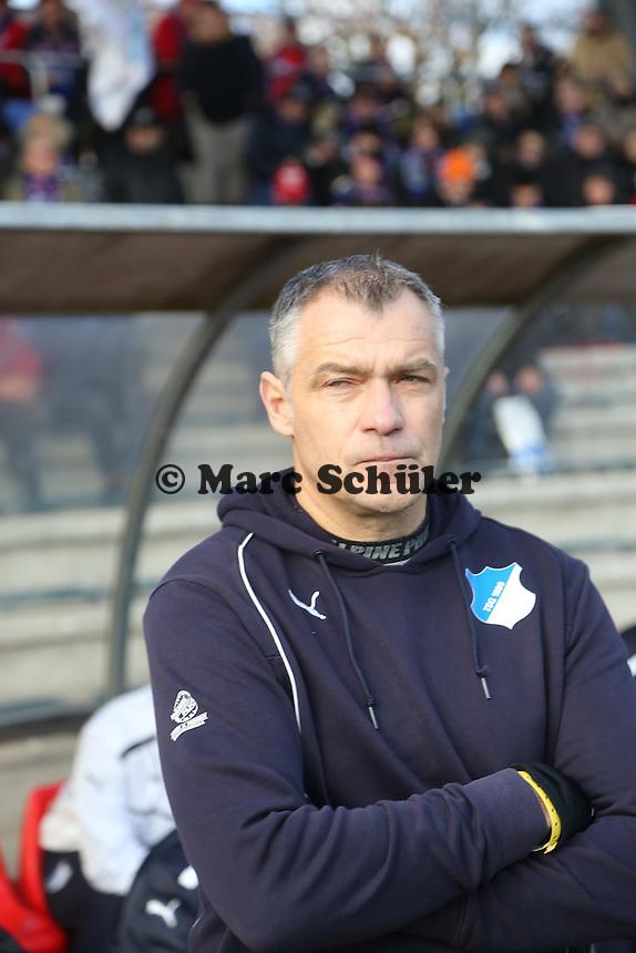 Trainer Jürgen Ehrmann (Hoffenheim) - 1. FFC Frankfurt vs. TSG 1899 Hoffenheim