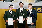 Hockey Boys Finalists. ASB College Sport Young Sportsperson of the Year Awards 2006, held at Eden Park on Thursday 16th of November 2006.<br />