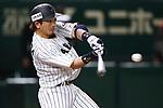 Nobuhiro Matsuda (JPN), <br /> MARCH 15, 2017 - WBC : 2017 World Baseball Classic Second Round Pool E Game between Japan 8-3 Israel at Tokyo Dome in Tokyo, Japan. <br /> (Photo by Sho Tamura/AFLO SPORT)