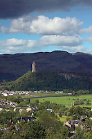 The Wallace Monument and the Ochil Hills from Stirling Castle<br /> <br /> Copyright www.scottishhorizons.co.uk/Keith Fergus 2011 All Rights Reserved