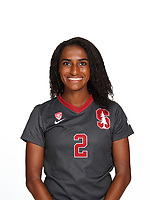 STANFORD, CA - August 28, 2018: 2018-2019 Stanford Women's Soccer Team Photo Day.