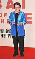 Billie Jean King at the 61st BFI LFF &quot;Battle of the Sexes&quot; American Express gala, Odeon Leicester Square, Leicester Square, London, England, UK, on Saturday 07 October 2017.<br /> CAP/CAN<br /> &copy;CAN/Capital Pictures