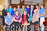 Glenflesk Whist club members who celebrated the club 30th anniversary in the Royal Hotel Killarney on Saturday night front row l-r: Sheila O'Leary, Phil Cronin, Kay Clifford, Rosemary Lynch. Back row: Margarie Sparling, Peggy O'Doonoghue, Catriona Lyne, Maureen Donovan, Eileen Gleeson, Ann Clerkin, Breda Moynihan, Phil Ahern and Breda Sparling
