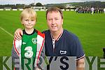 Sean and John Kelleher Listowel at the Irelandv Estonia U-16 International friendly at Pat Kennedy PArk Listowel on Tuesday