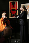 Tammy Grimes and Roberta Wallach performs at the '12th Annual Love N' Courage' celebrating David Amram and Tammy Grimes at The National Arts Club on March 2,, 2015 in New York City.