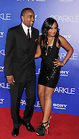 HOLLYWOOD, CA - AUGUST 16: Nick Gordon and Bobbi Kristina Brown arrive for the Los Angeles premiere of 'Sparkle' at Grauman's Chinese Theatre on August 16, 2012 in Hollywood, California. /NOrtePHOTO.COM<br />