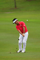 Yuta Ikeda (Asia) on the 8th fairway during the Friday Foursomes of the Eurasia Cup at Glenmarie Golf and Country Club on the 12th January 2018.<br /> Picture:  Thos Caffrey / www.golffile.ie