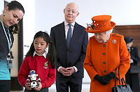 07 March 2019 - London, UK - Queen Elizabeth II visits the Science Museum in London. Photo CreditL ALPR/AdMedia