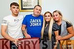Cillian Spillane, Denis Healy, Rachel and Samantha Ward enjoying the evening in Bella Bia on Saturday.