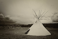 Nez Perce Spirits - Big Hole Battlefield - Montana