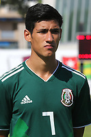 Carlos Uriel Antuna Romero of Mexico U21's during Mexico Under-21 vs Turkey Under-21, Tournoi Maurice Revello Football at Stade de Lattre-de-Tassigny on 6th June 2018
