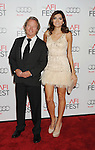 HOLLYWOOD, CA - NOVEMBER 08: John Savage and Blanca Blanco arrive at the 'Lincoln' premiere during the 2012 AFI FEST at Grauman's Chinese Theatre on November 8, 2012 in Hollywood, California.