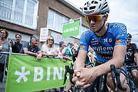 Michaël Goolaerts (BEL/Veranda's Willems-Crelan) pre race focus.<br /> <br /> Binckbank Tour 2017 (UCI World Tour)<br /> Stage 7: Essen (BE) > Geraardsbergen (BE) 191km