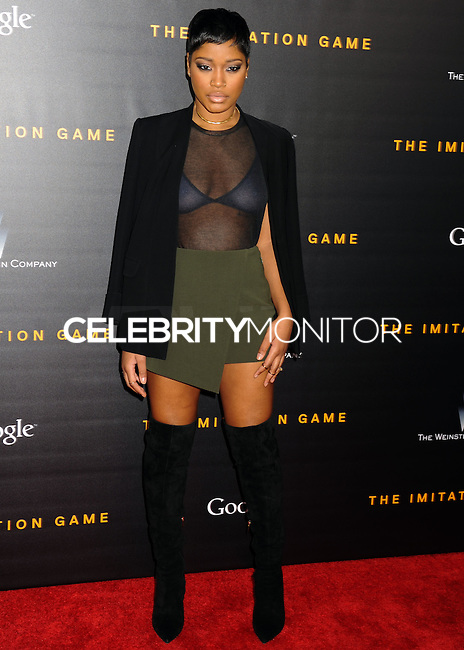 NEW YORK CITY, NY, USA - NOVEMBER 17: Keke Palmer arrives at the New York Premiere Of The Weinstein Company's 'The Imitation Game' held at the Ziegfeld Theatre on November 17, 2014 in New York City, New York, United States. (Photo by Celebrity Monitor)