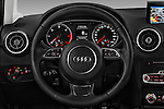 Car pictures of steering wheel view of a 2016 Audi A1 Sport 3 Door Hatchback Steering Wheel
