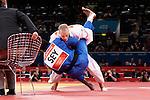 Engeland, London, 2 Augustus 2012.Olympische Spelen London.Judoka Henk Grol wint de eerste ronde van Dominic Dugasse uit Seynagal.
