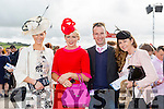 Enjoying Ladies Day at the Listowel Races on Friday were: Penny Huggard, Toiréasa McGuire, Johnny McGuire, Geraldine O Mahony