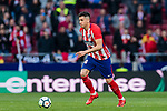 Jose Maria Gimenez de Vargas of Atletico de Madrid in action during the La Liga 2017-18 match between Atletico de Madrid and Athletic de Bilbao at Wanda Metropolitano  on February 18 2018 in Madrid, Spain. Photo by Diego Souto / Power Sport Images
