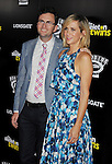 HOLLYWOOD, CA- SEPTEMBER 10: Director Craig Johnson (L) and actress Kristen Wiig attend 'The Skeleton Twins' Los Angeles premiere held at the ArcLight Hollywood on September 10, 2014 in Hollywood, California.