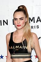 LOS ANGELES - NOV 21:  Cara Delevingne at the 'PUMA x Balmain- created with Cara Delevingne' LA Launch Event at the Milk Studios on November 21, 2019 in Los Angeles, CA