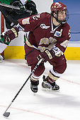 Stephen Gionta - The Boston College Eagles defeated the University of North Dakota Fighting Sioux 6-5 on Thursday, April 6, 2006, in the 2006 Frozen Four afternoon Semi-Final at the Bradley Center in Milwaukee, Wisconsin.