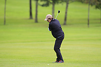 Mary Quigley (Mount Juliet) on the 1st fairway during the Final round of the Irish Mixed Foursomes Leinster Final at Millicent Golf Club, Clane, Co. Kildare. 06/08/2017<br /> Picture: Golffile | Thos Caffrey<br /> <br /> <br /> All photo usage must carry mandatory copyright credit      (&copy; Golffile | Thos Caffrey)