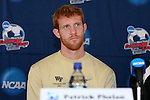 13 December 2007: Wake Forest's Pat Phelan. The Wake Forest University Demon Deacons held a press conference at SAS Stadium in Cary, North Carolina one day before playing in a NCAA Division I Mens College Cup semifinal game.