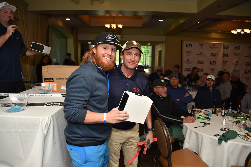 Justin Turner's First Annual Golf Tournament Monday, February 1, 2016 at Brookside Country Club in Pasadena,California. Photo by © Jon SooHoo/ 2016