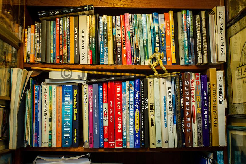 HONOLULU, North Shore, Oahu. - (Friday, January 4, 2013) --Surf books. Photo: joliphotos.com