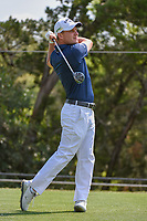 Emiliano Grillo (ARG) watches his tee shot on 2 during day 1 of the WGC Dell Match Play, at the Austin Country Club, Austin, Texas, USA. 3/27/2019.<br /> Picture: Golffile | Ken Murray<br /> <br /> <br /> All photo usage must carry mandatory copyright credit (© Golffile | Ken Murray)