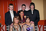 ..COMMUNITY: Dancing the night away at the Castleisland Community College Debs on Friday night in the Abbey gate Hotel, Tralee. Front l-r: Bri?d-Ide Walsh and Tara Daly. Back l-r: Greg O'Connor, Michelle Sugrue, Timmy Reidy and Mike Madigan.......   Copyright Kerry's Eye 2008