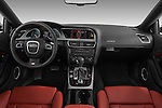 Straight dashboard view of a 2007 - 2011 Audi S5 Coupe.