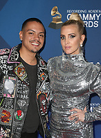 7 February 2019 - Los Angeles, California - Evan Ross, Ashlee Simpson. the Delta Air Line 2019 GRAMMY Party held at Mondrian Los Angeles. <br /> CAP/ADM/FS<br /> ©FS/ADM/Capital Pictures