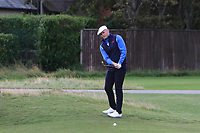 Harry Hall (GB&I) on the 5th during the Foursomes at the Walker Cup, Royal Liverpool Golf CLub, Hoylake, Cheshire, England. 07/09/2019.<br /> Picture Thos Caffrey / Golffile.ie<br /> <br /> All photo usage must carry mandatory copyright credit (© Golffile | Thos Caffrey)