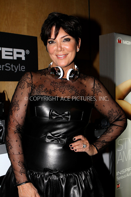 WWW.ACEPIXS.COM....September 11 2012, New York City....Kris Jenner at the Tumbler And Tipsy By Michael Kuluva spring 2013 fashion show during Style360 at Metropolitan Pavillion on September 11, 2012 in New York City.......By Line: Nancy Rivera/ACE Pictures......ACE Pictures, Inc...tel: 646 769 0430..Email: info@acepixs.com..www.acepixs.com
