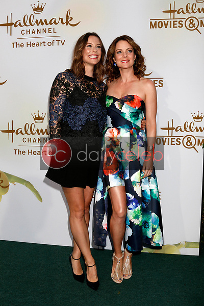 Ashley Williams, Kimberly Williams-Paisley<br /> at the Hallmark TCA Summer 2017 Party, Private Residence, Beverly Hills, CA 07-27-17<br /> David Edwards/DailyCeleb.com 818-249-4998