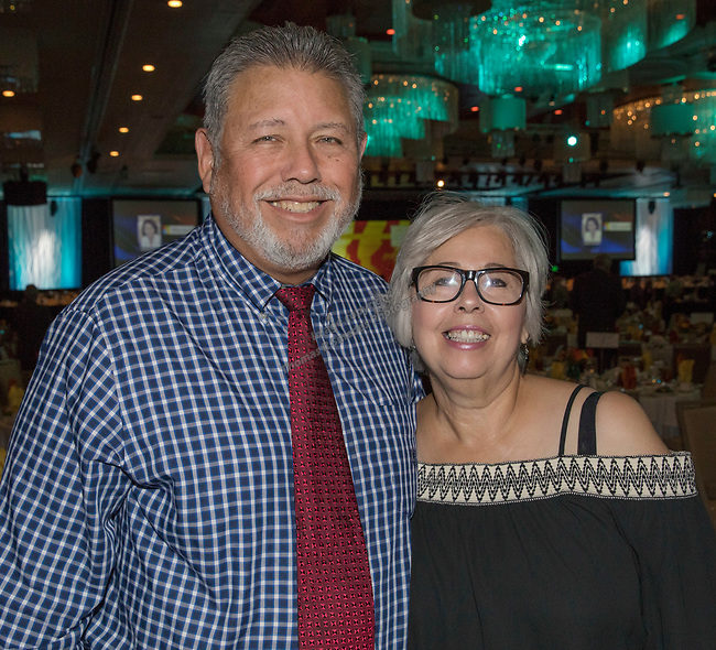 Richard and Bella Rodriguez during the 26th Annual Salute to Women of Achievement Luncheon held at the Grand Sierra Resort on Thursday, May 25, 2017.